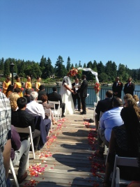 Moulaye & Brianna's wedding at The Foundry in Lake Oswego