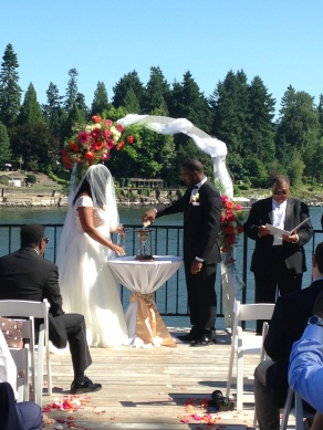 Moulaye & Brianna's wedding ceremony